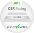 Sinerga ha, inoltre, deciso di aderire ai sistemi Ecovadis per la valutazione dell'indice di sostenibilità, ottenendo l'attestato SILVER rating.