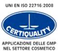 Sempre nel 2011 Il sito produttivo ha ottenuto l'attestazione di conformità alle linee guida ISO 22716, anticipando i requisiti del nuovo Regolamento Cosmetico (GMP).