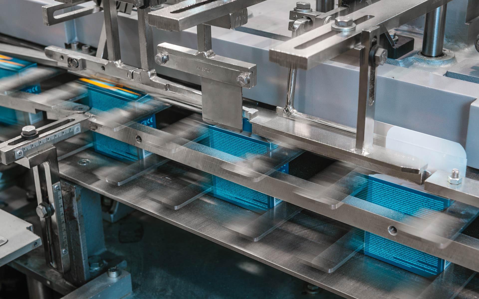 Gli impianti soddisfano le più moderne richieste del mercato e gli investimenti tecnologici sono continui.