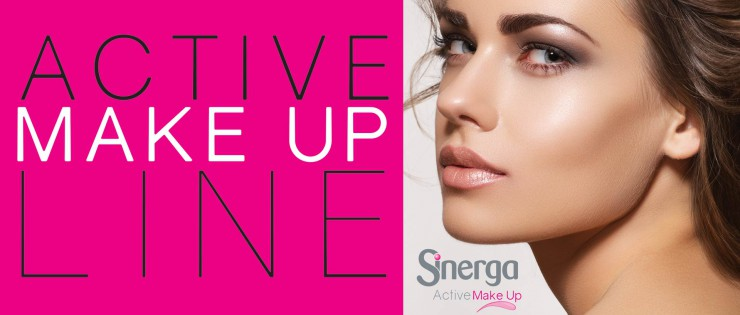 La linea Active Make Up è un'intera gamma di formulazioni che uniscono le performances decorative del make up a veri e propri trattamenti cosmetici per la cura e prevenzione degli inestetismi cutanei.
