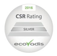 Sinerga si è aggiudicata il Silver Recognition Level di Ecovadis, un'agenzia di rating specializzata in Sostenibilità ed Etica.